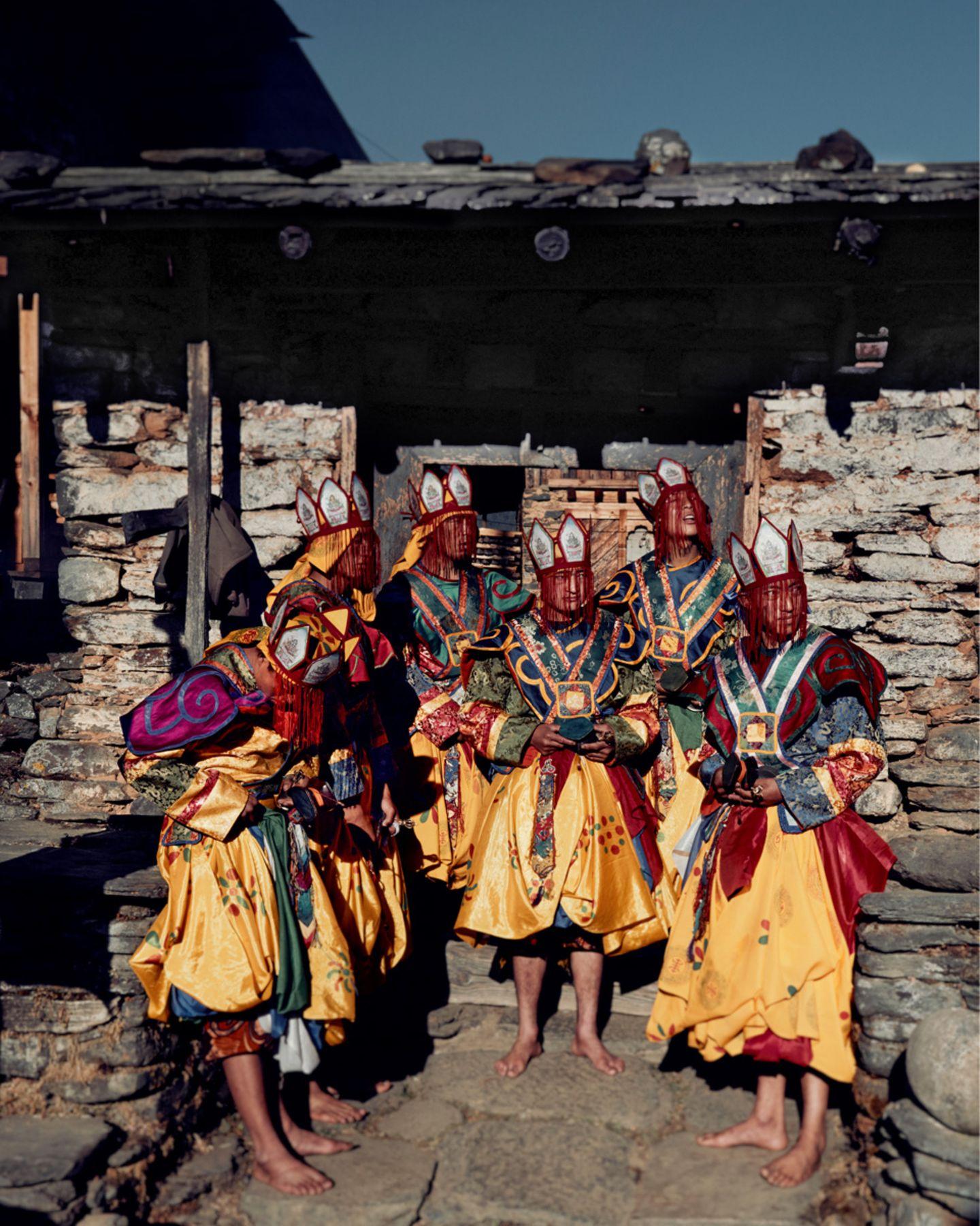 Tanzenden Mönche