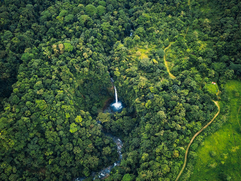 Cascade de la Fortuna, Costa Rica