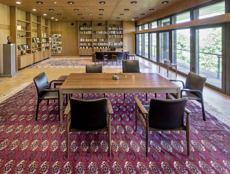Kanzlerarbeitszimmer, Haus der Geschichte, Bonn