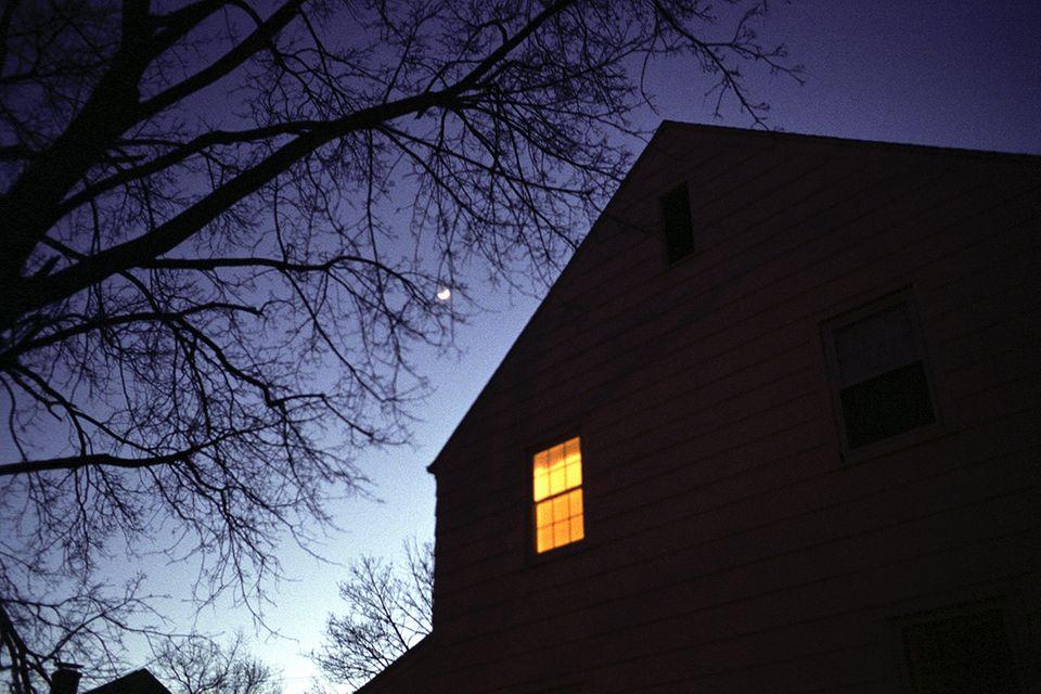 Erleuchtetes Fenster