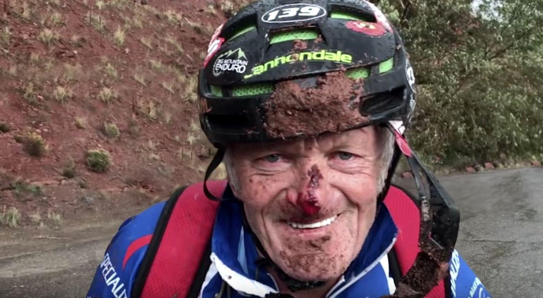 The Frenchy: Joie de vivre, die Lebensfreude, steht Jacques Houot ins Gesicht geschrieben - selbst mit blutiger Nase