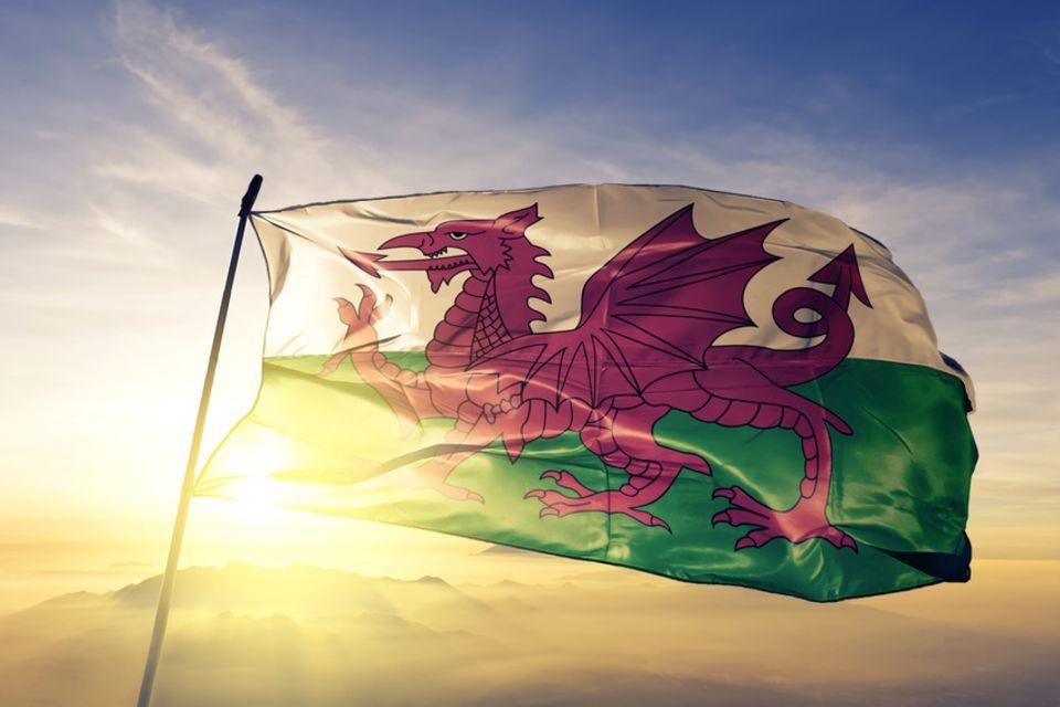 Flagge, Wales