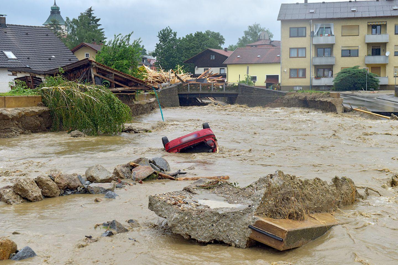 Hochwasser, Simbach am Inn, 2016