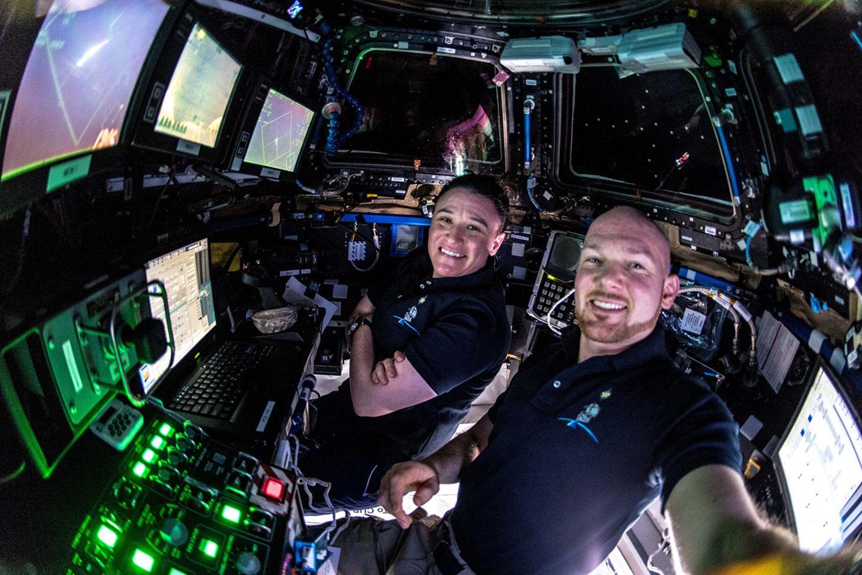 Selfie von der ISS