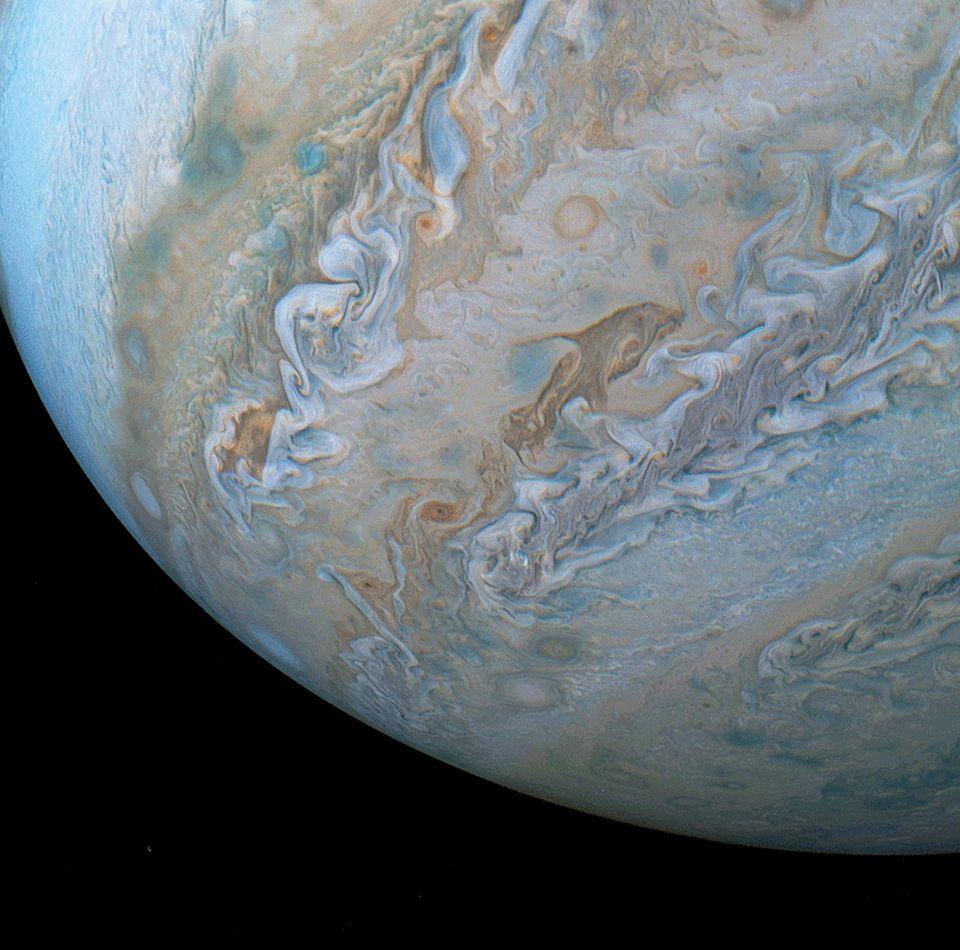 Jupiter, Wolken