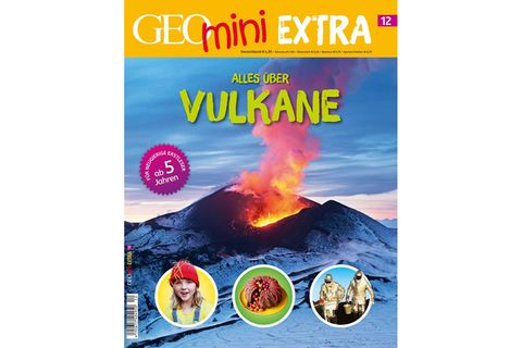 GEOmini Extra Nr. 12: Alles über Vulkane
