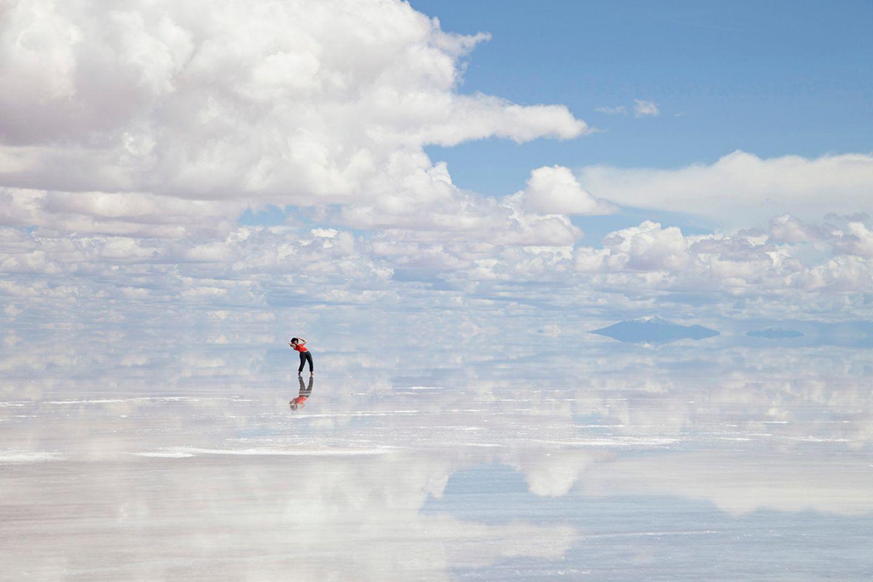 Salar den Uyuni, Bolivien