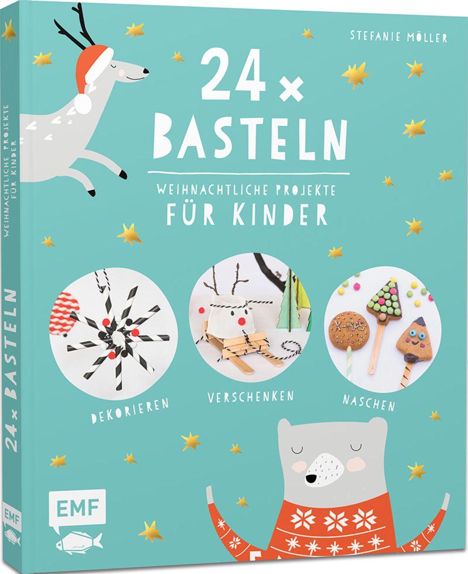 24 x Basteln für Kinder