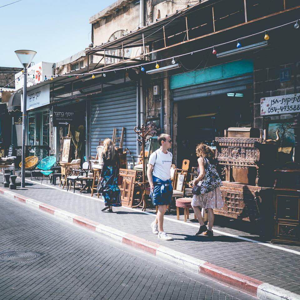 Jaffa, Flohmarkt, Tel Aviv