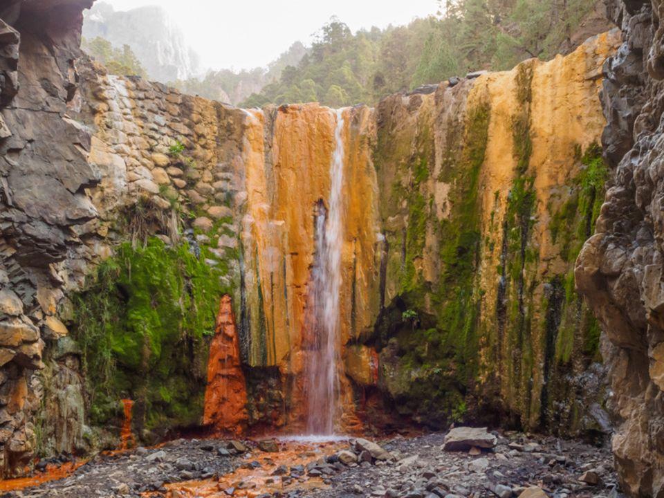 La Palma, Cascada de Colores