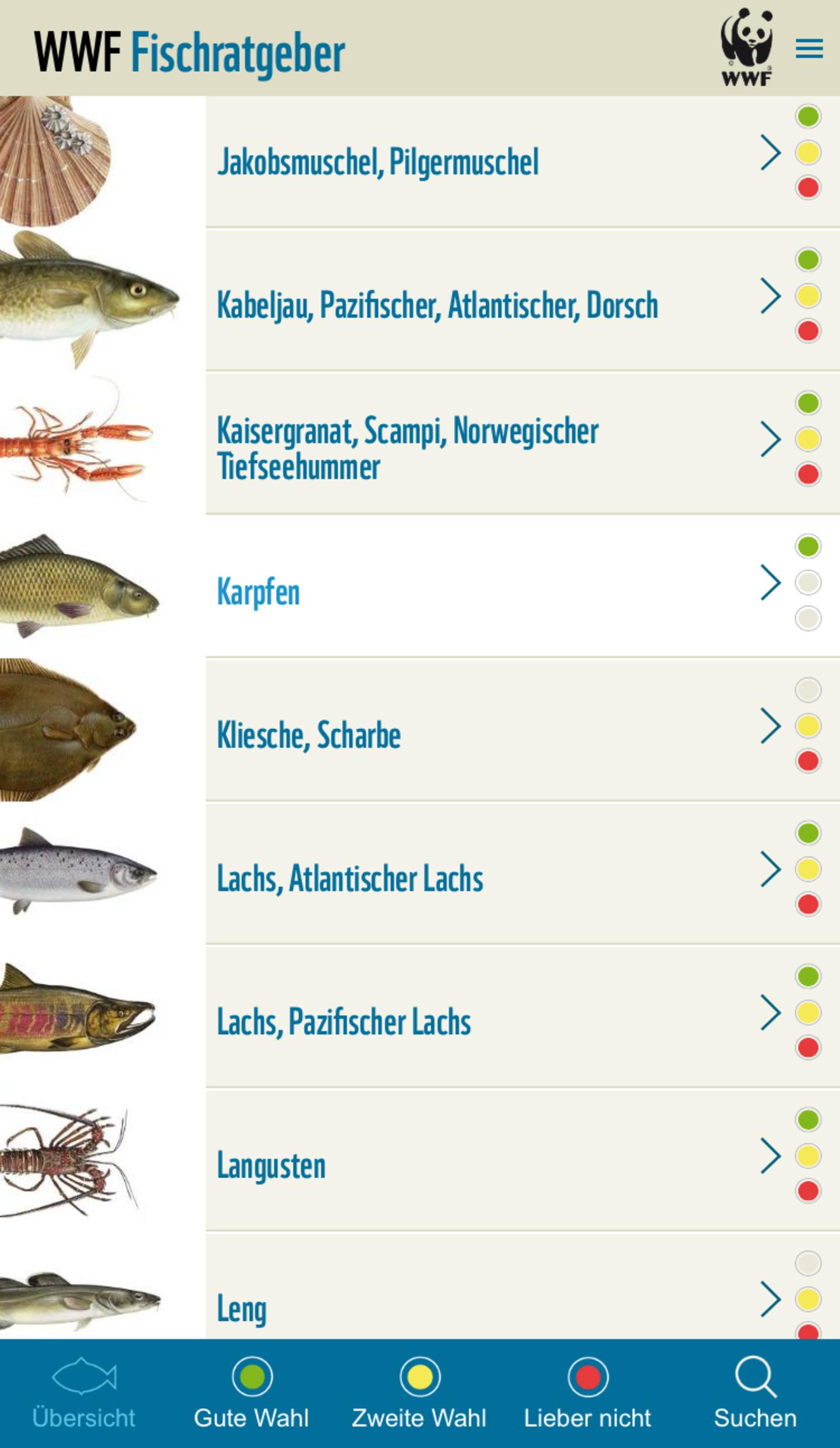 WWF Fischratgeber