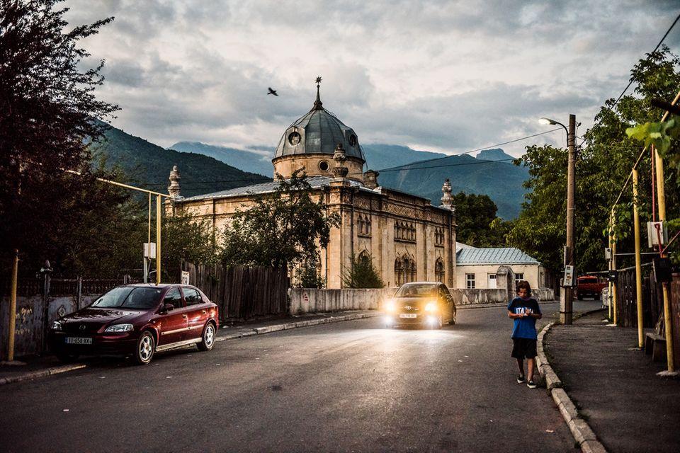 Die Synagoge von Oni, Georgien