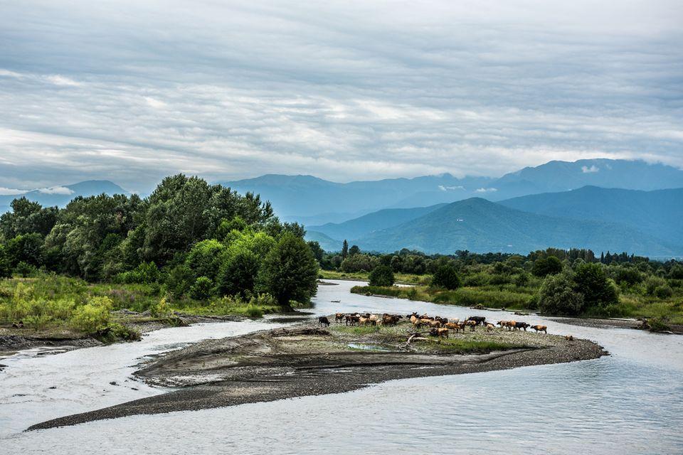 Kachetien, Großer Kaukasus, Georgien