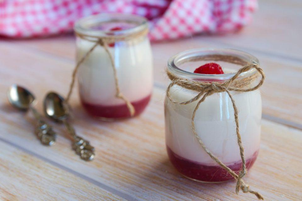 Joghurt selber machen - aus Milch