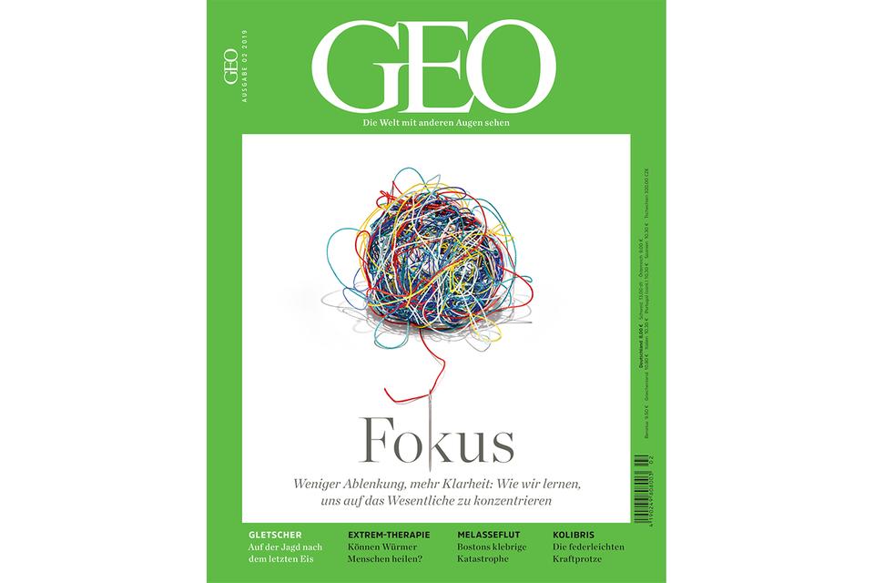 GEO Nr. 02/2019: GEO Nr. 02/2019 - Fokus: Weniger Ablenkung, mehr Klarheit
