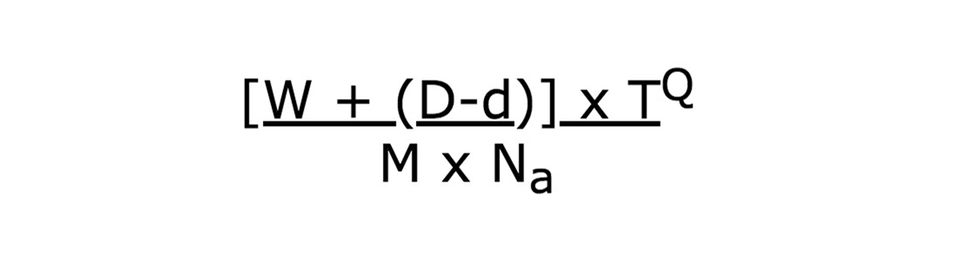 Mit dieser Formel will Cliff Arnall berechnet haben, dass wir am dritten Montag im Januar am traurigsten sind