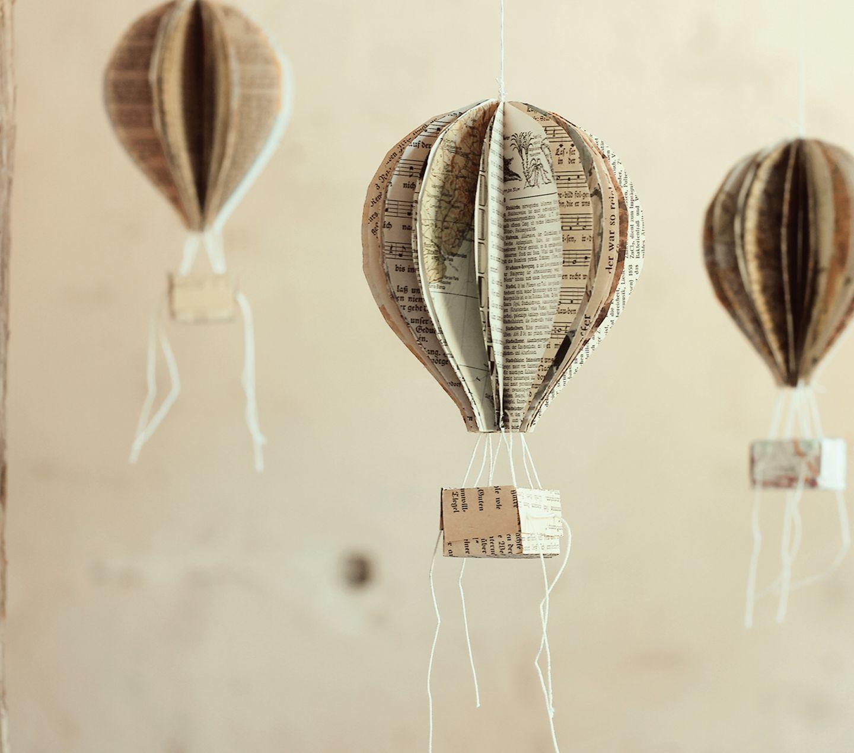 Ballons aus Papier