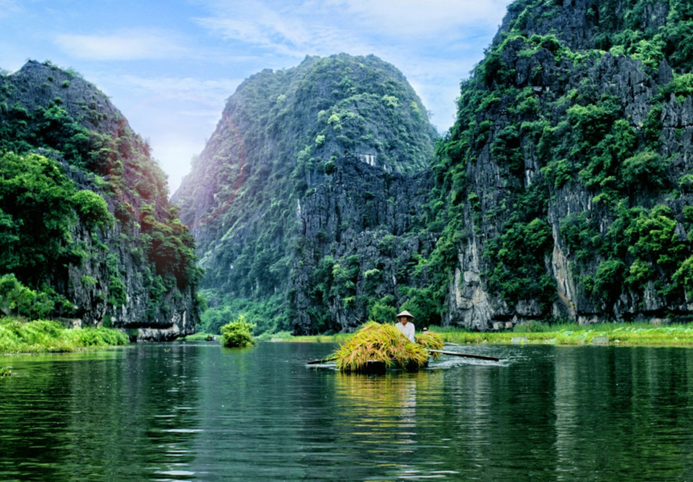 Ninh-Binh-Provinz, Vietnam