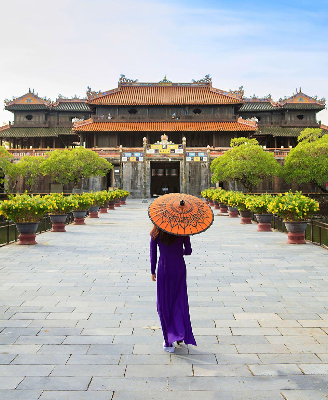 Zitadelle von Huế , Vietnam