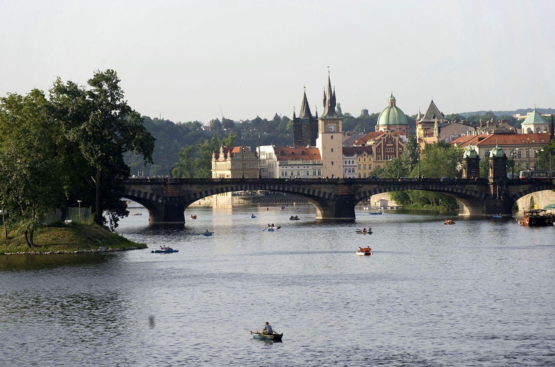 Brücke der Legionen, Most Legií, Prag
