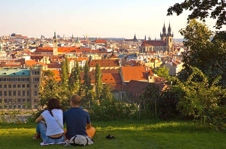 Letenske Sady Park, Prag
