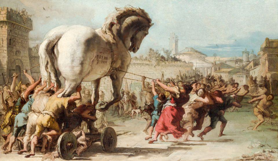 Das trojanische Pferd - Homer