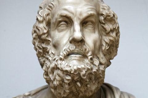 Homer - antike Statue