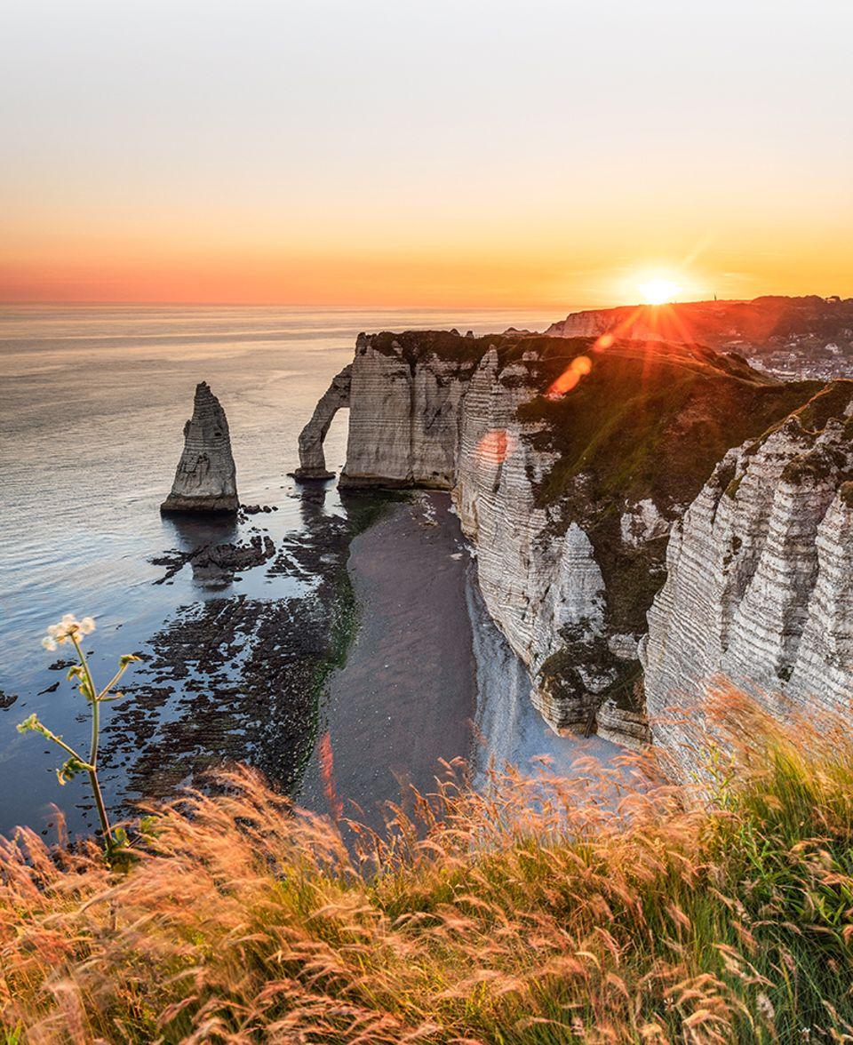 Frankreich, Normandie, Étretat