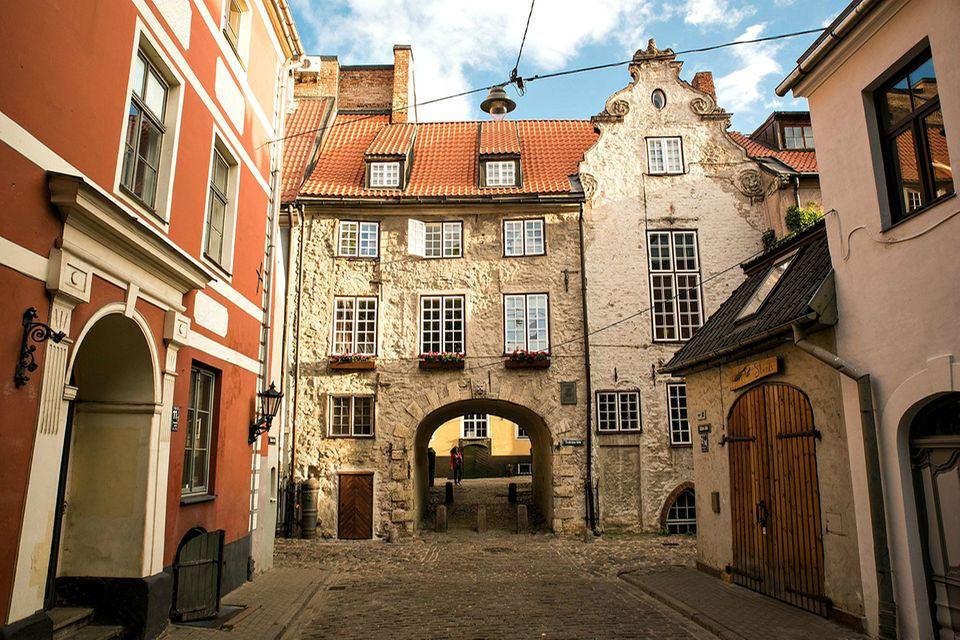 Swedish Gate, Riga Altstadt
