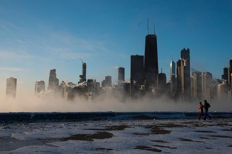 Chicago im Winter