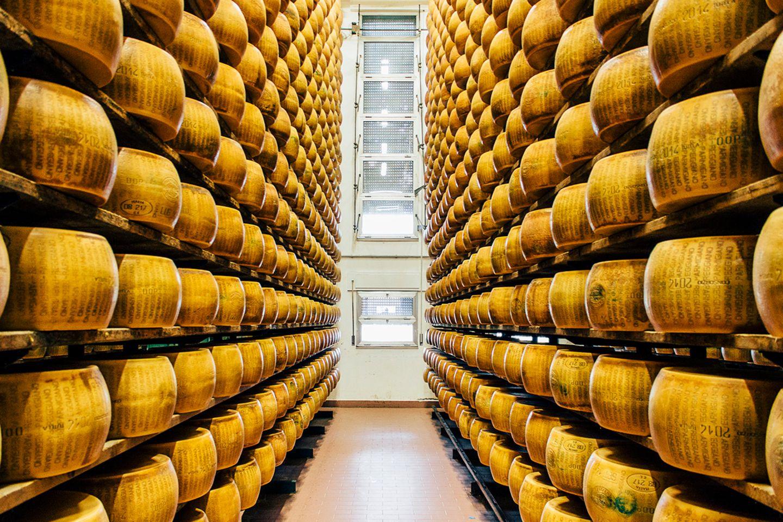 Parmigiano Reggiano Fabrik, Parma