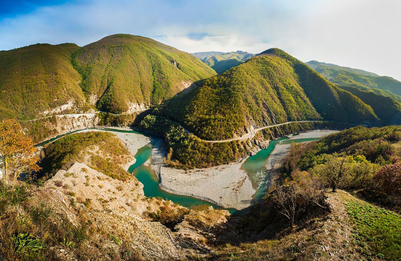Fluß Trebbia
