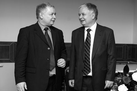 Lech And Jaroslaw Kaczynski