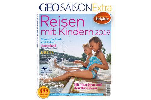 Geo Saison Extra Nr. 01/2019: Reisen mit Kindern 2019