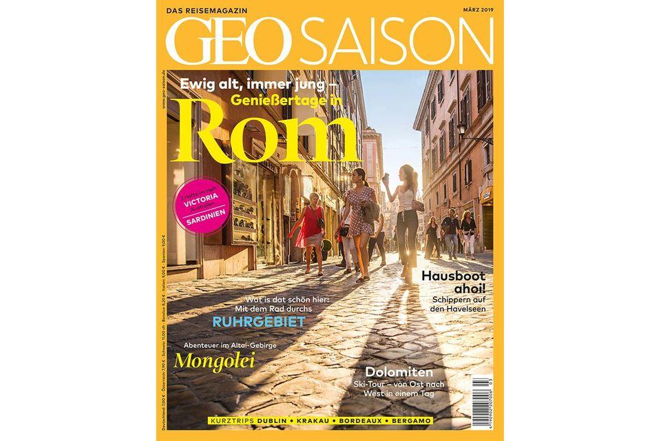 Geo Saison Nr. 03/2019: Geo Saison Nr. 03/2019 - Rom