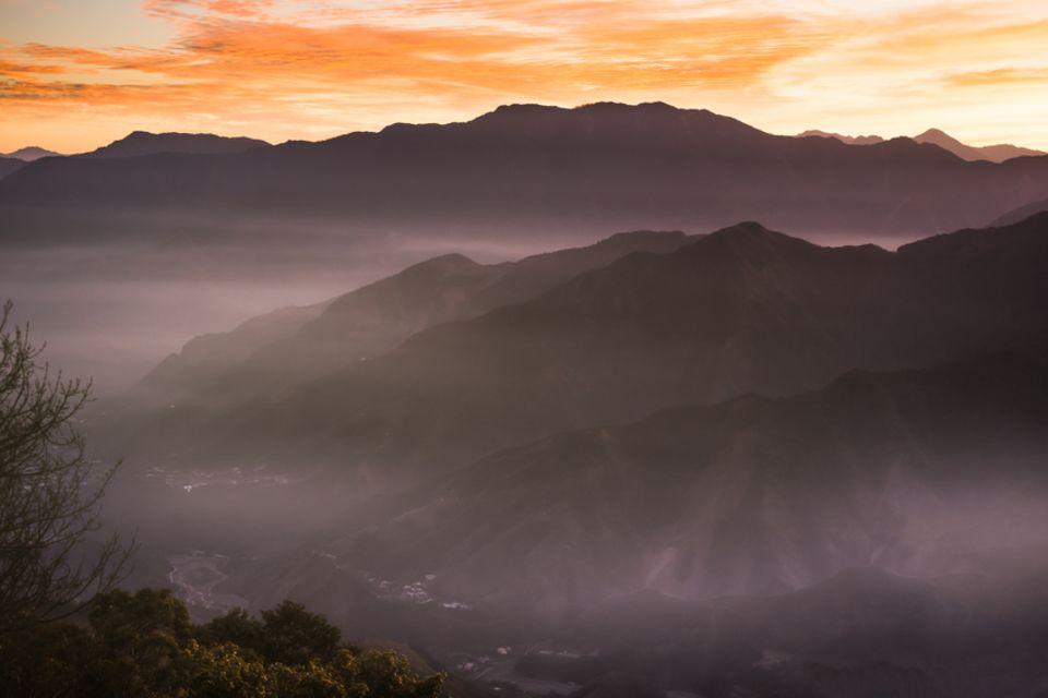 Yushan National Park in Taiwan