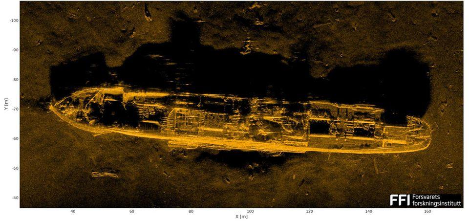 Schiffswrak in der Ostsee