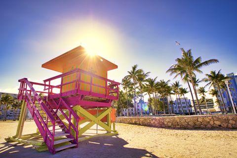Miami, Strand