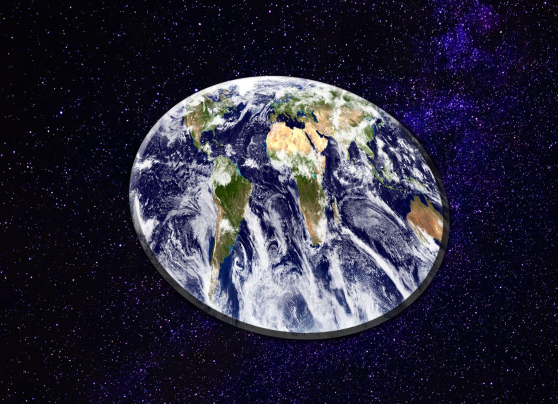 Erde ist eine Scheibe