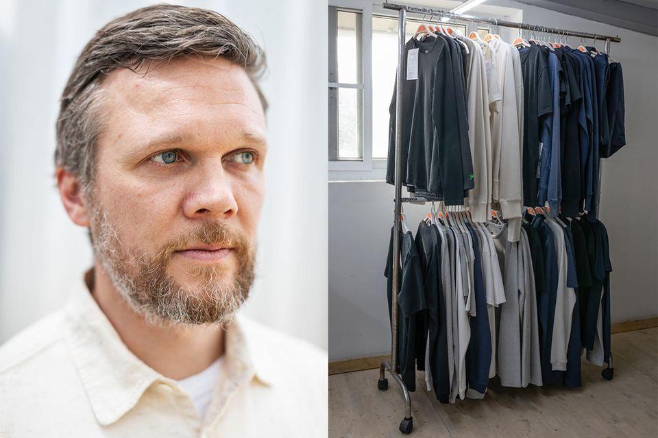 Hannes Bengs, einer der Gründer von Pure Waste Textiles