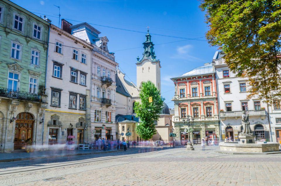 Lemberg Marktplatz