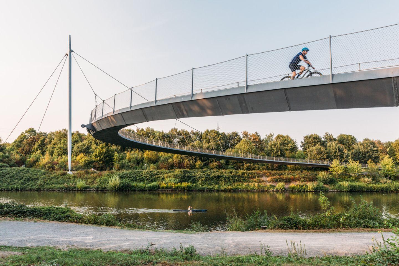 Rhein-Herne-Kanal, Ruhrgebiet