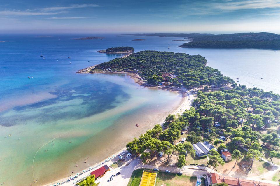 Strand von Medulin, Istrien