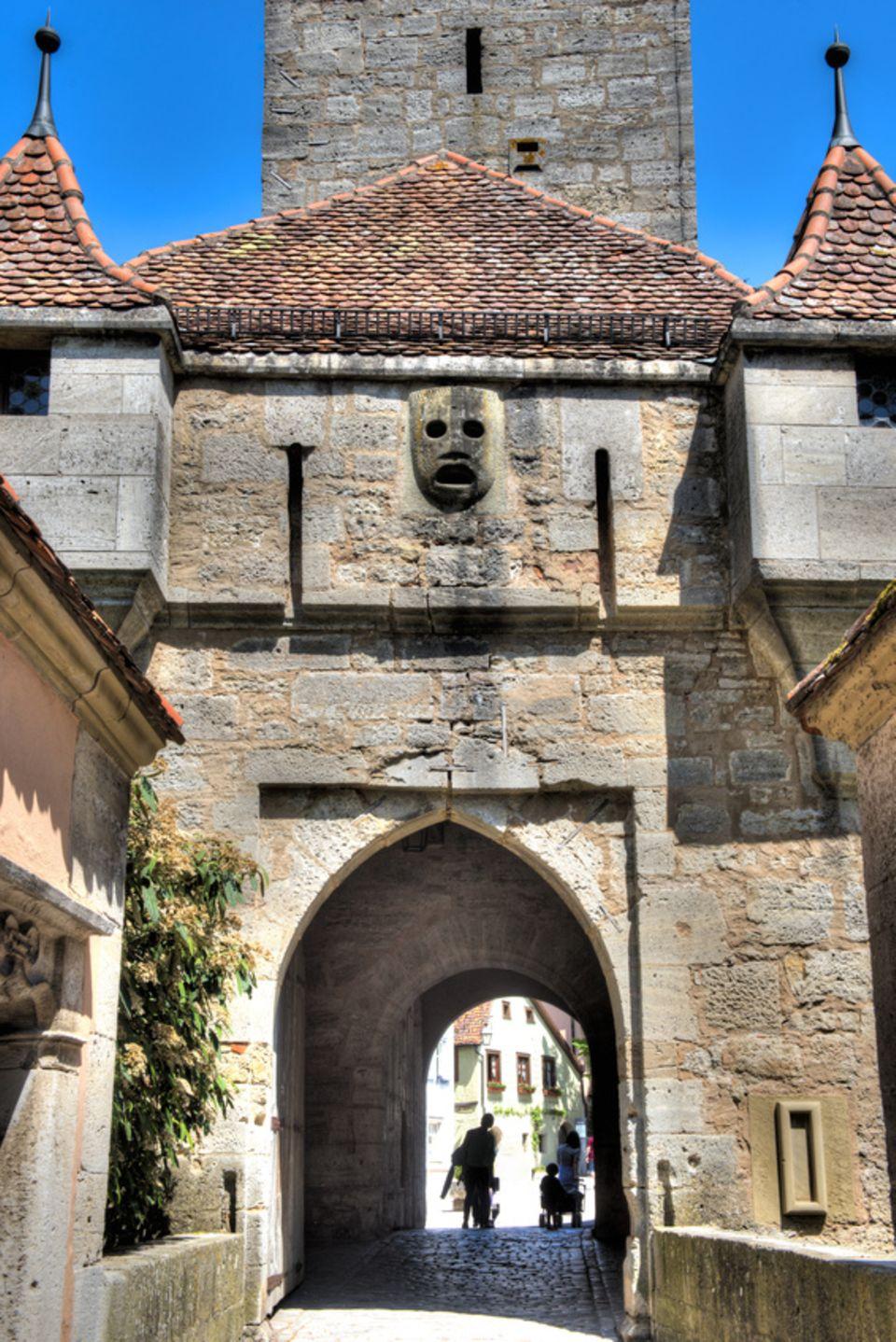 Pechnase in der Burg