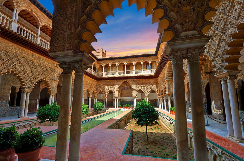 Alcazar, Sevilla, Spanien