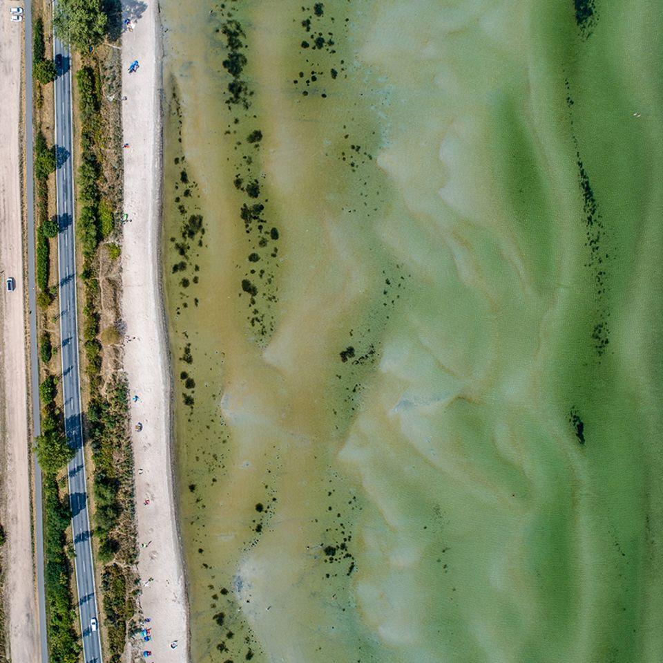 Die Küste bei Klütz, Ostsee