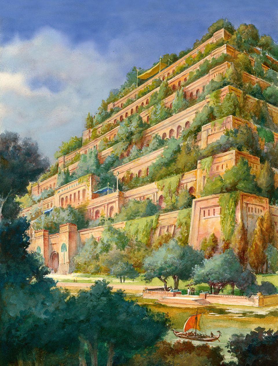 Hängende Gärten der Semiramis