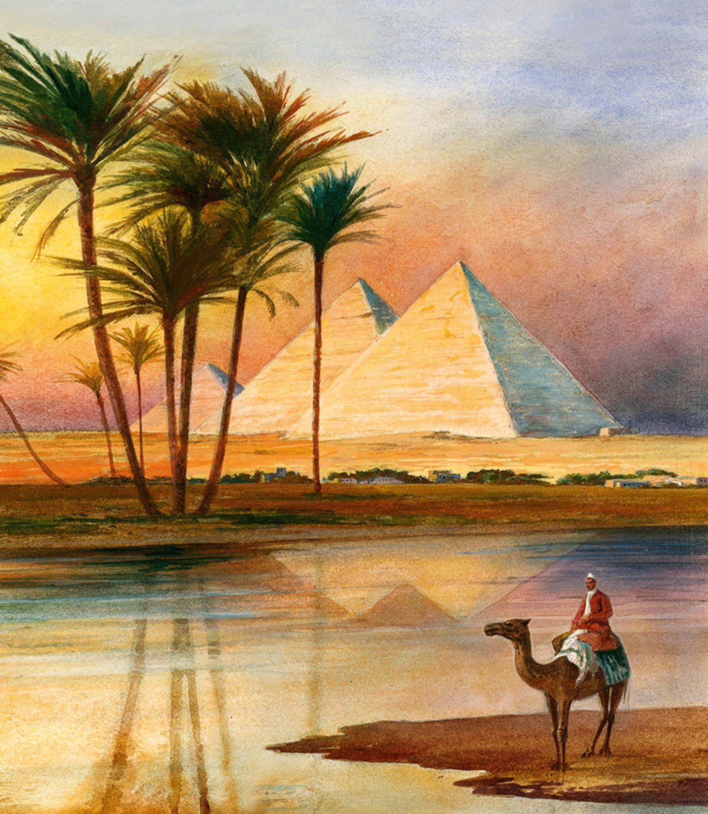 Pyramiden von Giseh