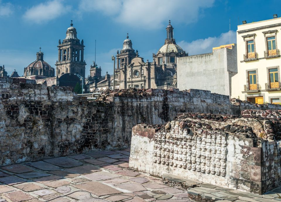 Templo Mayor Mexiko-Stadt