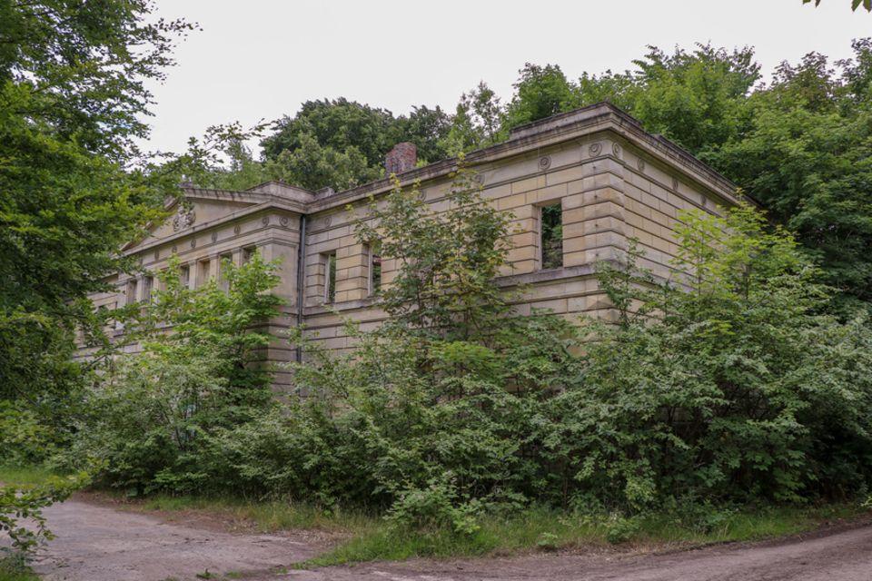 Schloss Dwasieden, Sassnitz, Rügen
